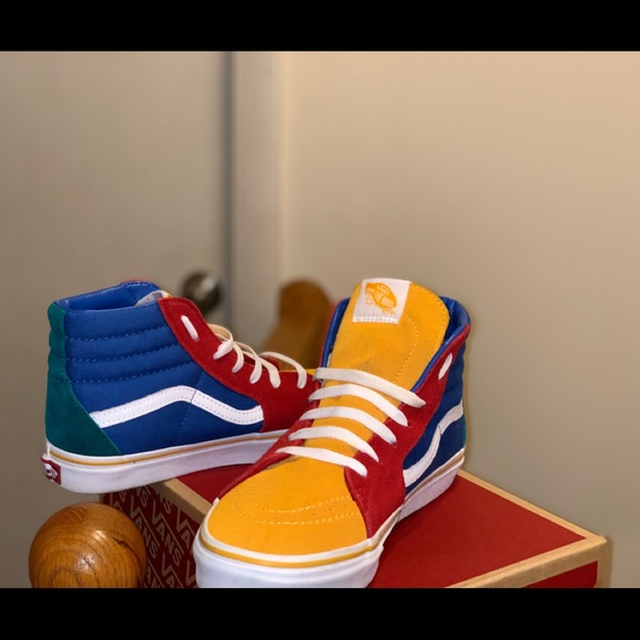 Vans Shoes   Vans Sk8hi Primary Color